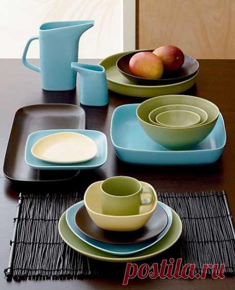 Красивая посуда для кухни, наборы столовой посуды - фото | Дом Мечты