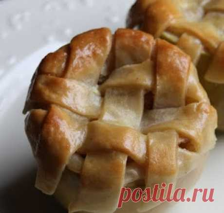 Пирог в яблоке.