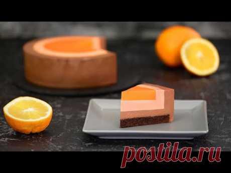 """Муссовый Торт """"Апельсин в шоколаде"""""""