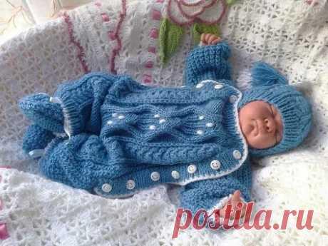 Два комбинезона для малыша от Svetlana Bersanova