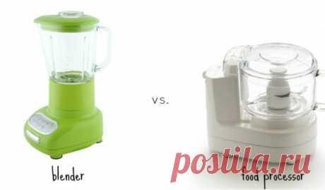 Блендер или кухонный комбайн, что лучше? Описание, советы по выбору
