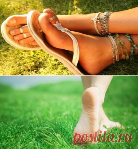 Как сохранить красивыми ноги летом