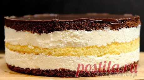 Этот торт не забуду никогда - птичье молоко с кремом из манки
