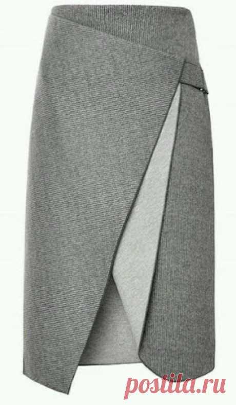 Выкройка очень красивой, элегантной юбки | oblacco