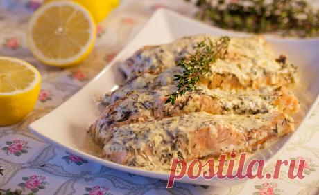 Стейки рыбы в духовке, рецепт с фото / Простые рецепты