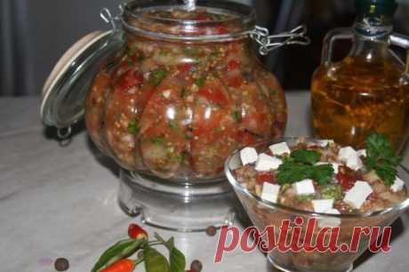 Греческая закуска «Мелидзано»
