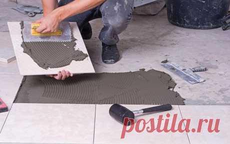 Как положить плитку на пол: советы и хитрости начинающему плиточнику