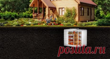 Пластиковые погреба для загородных домов