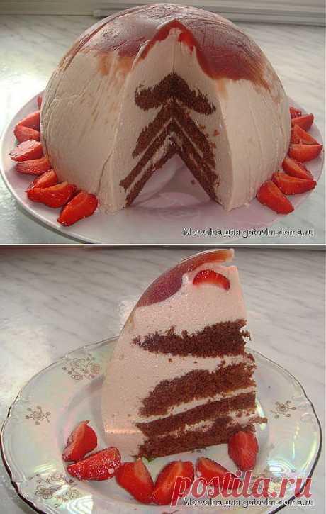 """Торт-суфле """"Нежный"""" Автор: Morvolna"""