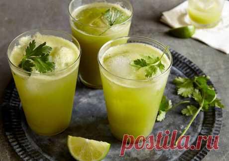 Полезнейший детокс-сок из кинзы   Делимся советами