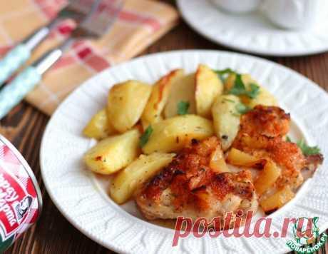 Куриные крылышки в чесночно-ананасовом соусе – кулинарный рецепт