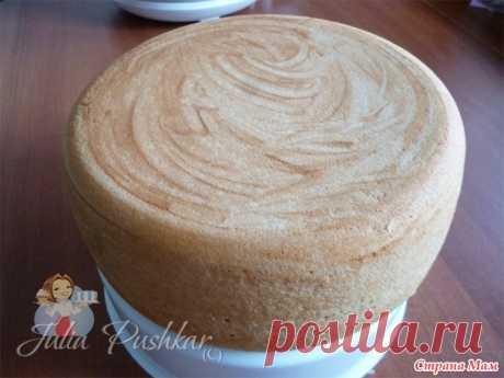 Ванильный бисквит на кипятке - Клуб для тех, кто обожает торты и пирожные - Страна Мам