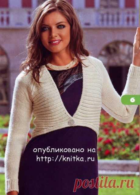 Болеро спицами. Подборка из 22 моделей вязаных болеро со схемами и описанием на knitka.ru, Вязание для детей