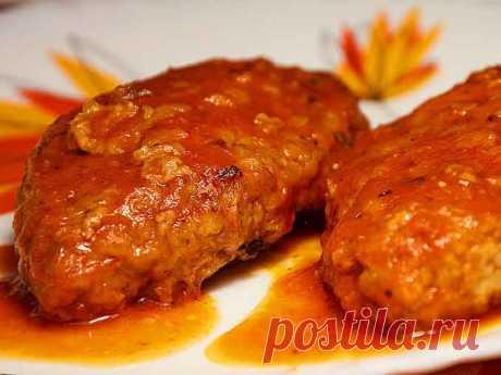 Луковые котлеты: рецепт вкуснейшего постного блюда