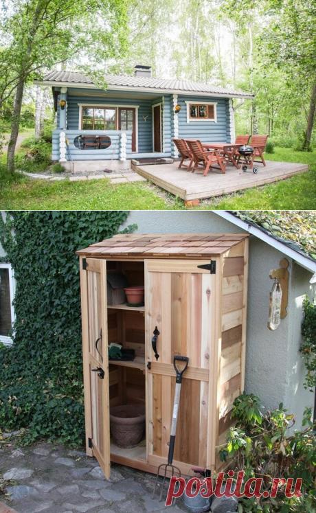 Как выглядит современная дача. Интерьер маленького дачного домика.