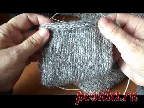 Вязальные хитрости:Как закрыть петли полым шнуром?