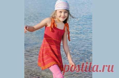 Летнее вязание для девочек