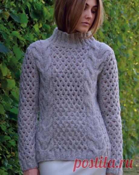 Вязаный свитерLevel | ДОМОСЕДКА