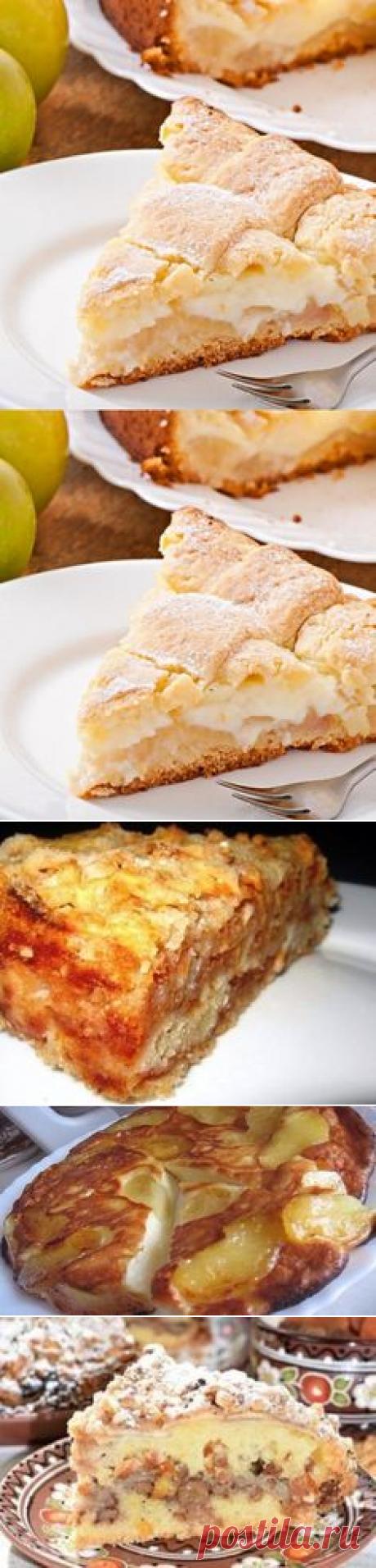Рецепты яблочных пирогов и шарлоток