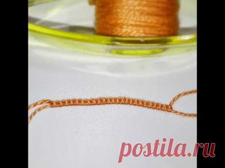 Основы Фриволите - Прямой и обратный узлы. Рабочая и ведущая нить. Процесс плетения. Frivolite