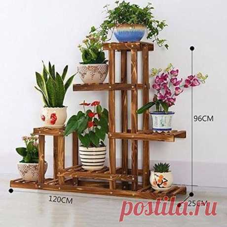 Идеи полок для цветов | Мой дом