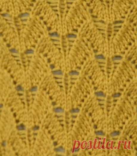 Узор для вязания джемпера спицами | Узоры вязания спицами