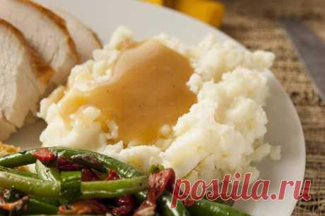 Подлива к пюре: как превратить привычное блюдо в шедевр