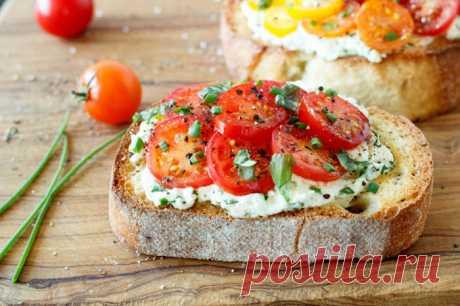 Рецепты итальянской брускетты | 39Rim.ru