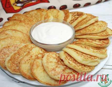 Нежные картофельные оладьи – кулинарный рецепт