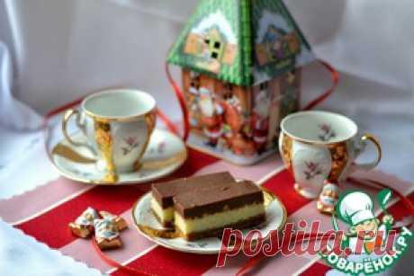 Новогоднее пирожное орехово-кокосовое - кулинарный рецепт