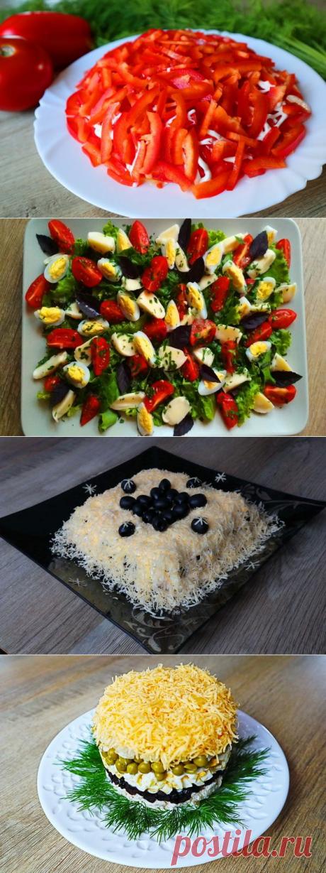5 вкуснейших салатов на новогодний стол!