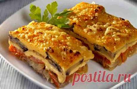 Баклажаны по-испански с сыром и ветчиной. Простой, экономичный и очень вкусный рецепт!