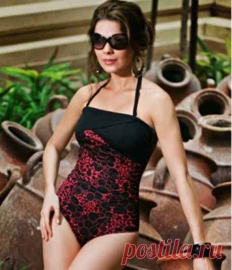 Buy The Jadida Black Red One Piece Swimsuit   Jamu Australia