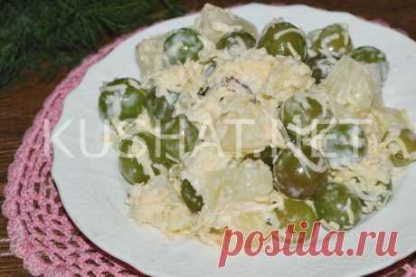Салат французских цыган. Пошаговый рецепт с фото • Кушать нет