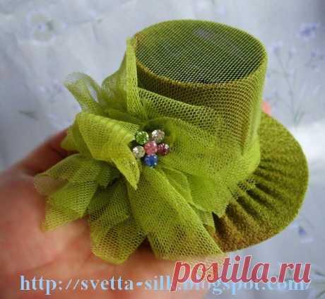 шляпка для кукол