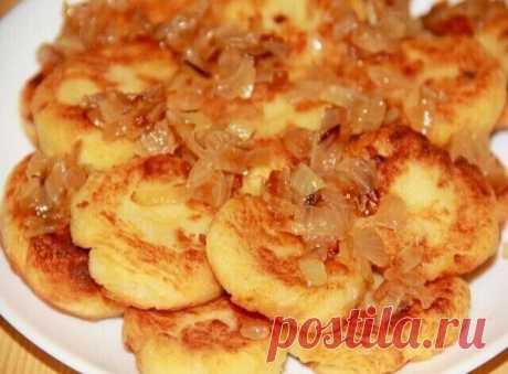 Lazy potato dumplings