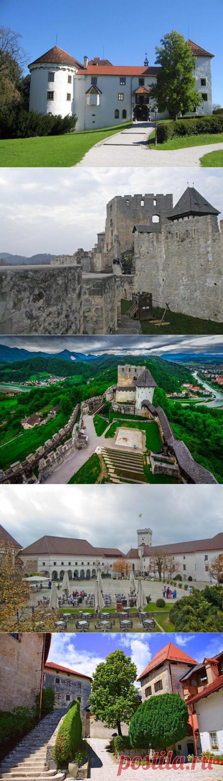 Замки Словении: 10 самых известных древних сооружений