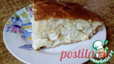 """Заливной пирог """"Нежный"""" - кулинарный рецепт"""