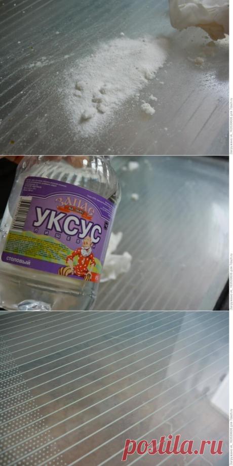 Как почистить стекло духовки простым и дешевым способом