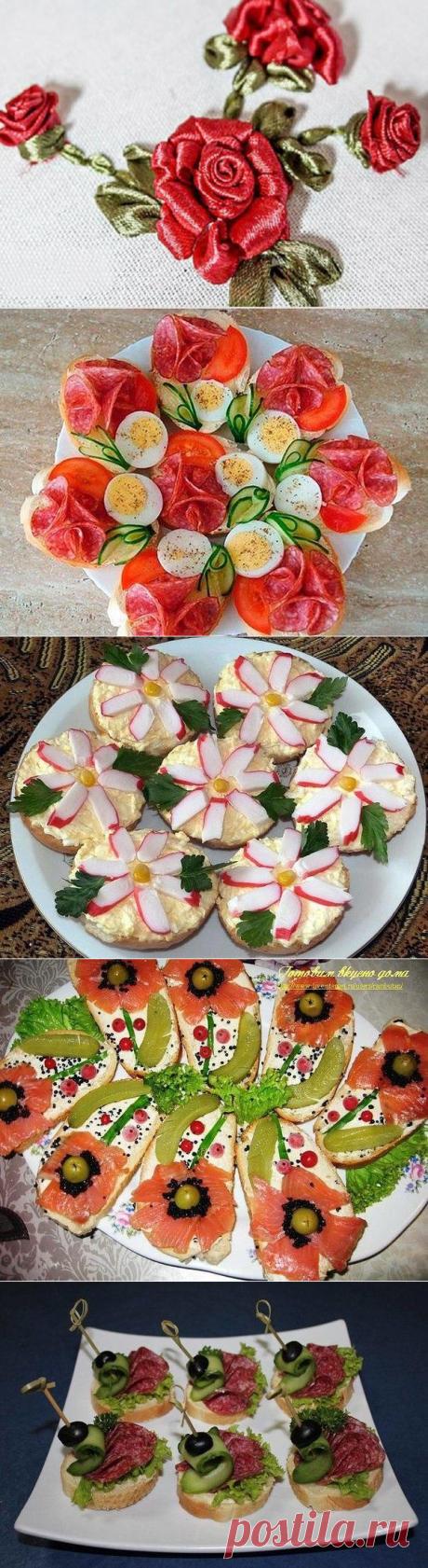 Оригинальные бутерброды, идеи