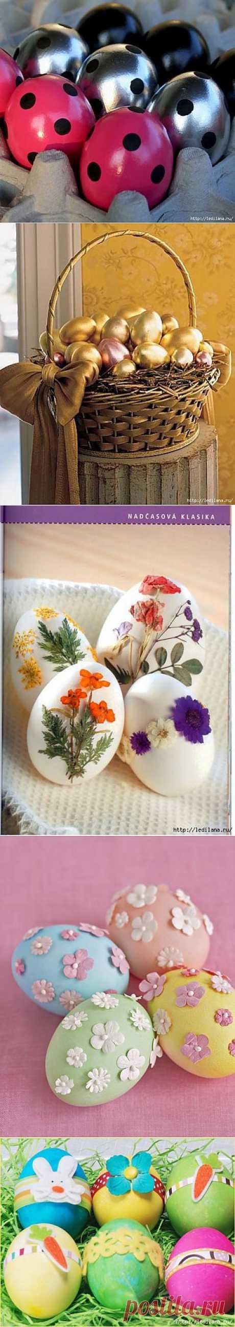 Изумительные идеи - как украсить пасхальные яйца.
