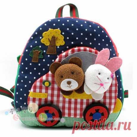 Детские рюкзачки.