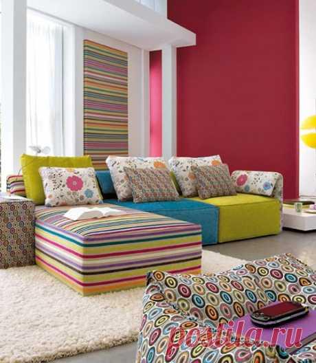 Интерьер в квартире: создаем весеннее настроение