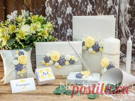 Коллекции, наборы свадебных аксессуаров ручной работы