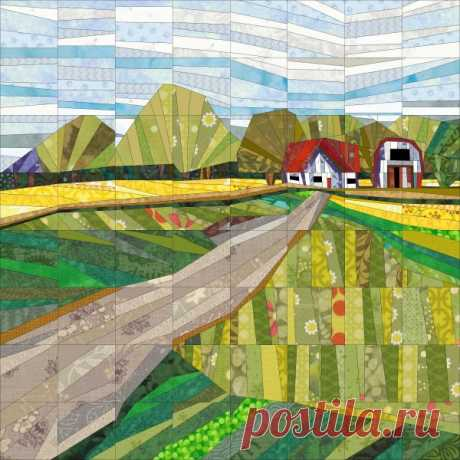 Farmhouse – Quilt Art Design