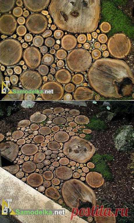 La calzada a la casa de campo de madera spilov \/ Cамоделки para la casa de campo \/ Самоделка.net - Haz por las manos | los Objetos de fabricación casera. Los consejos útiles y las recomendaciones al artífice de casa