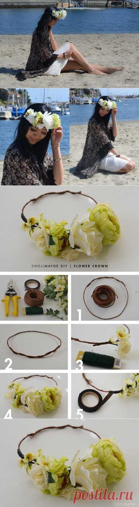 swellmayde: сделай сам | Цветочная короны
