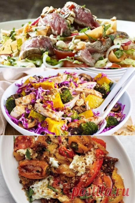 9 тёплых салатов, которые стоит приготовить