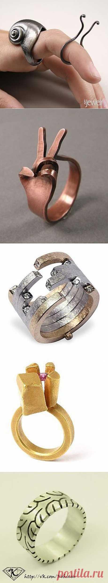Занятные кольца, часть 2 (трафик) / Ювелирные украшения / ВТОРАЯ УЛИЦА
