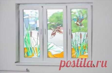 Как установить пластиковое окно. Видео